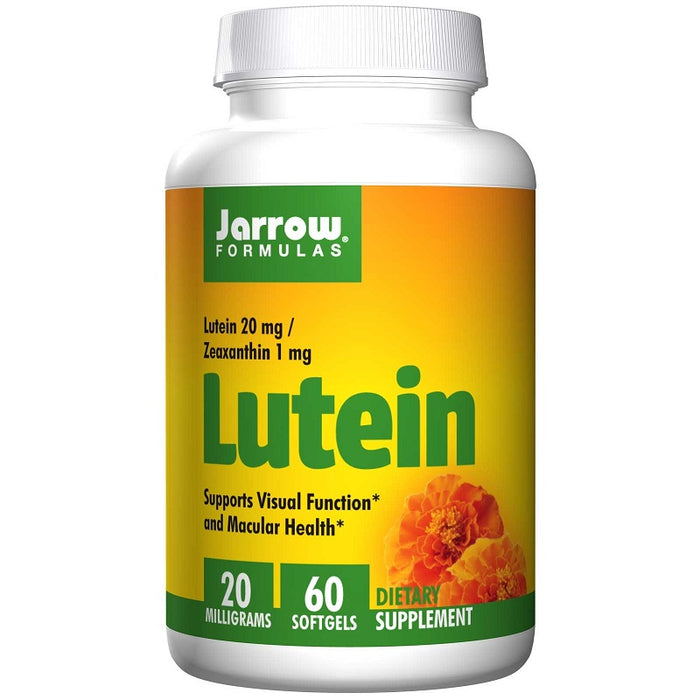 Jarrow Formulas Lutein 20 mg, 60 Softgels