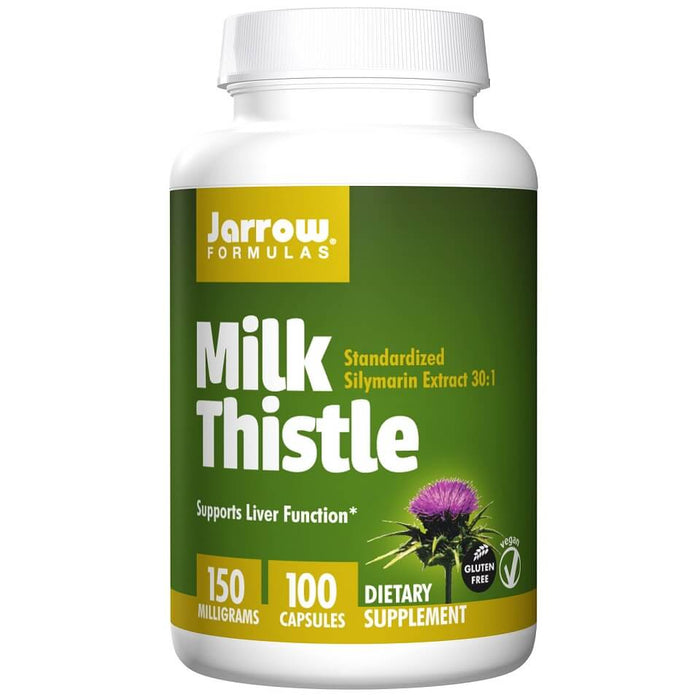 Jarrow Formulas Milk Thistle 150 mg, 100 Capsules