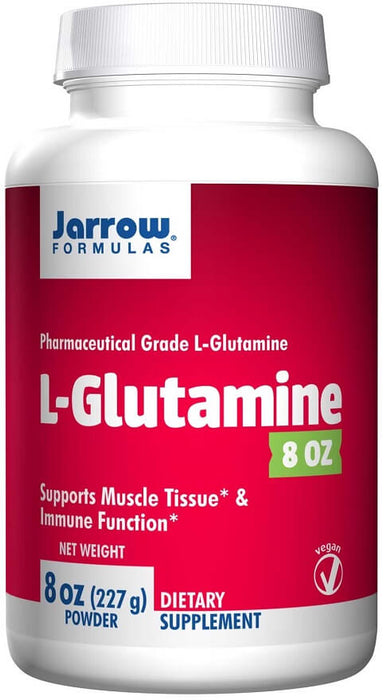 Jarrow Formulas L-Glutamine, 8 oz, 227 g, Powder