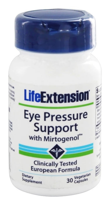 Life Extension Eye Pressure Support with Mirtogenol , 30 Vegetarian Capsules