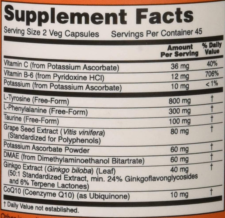 Now Foods True Focus, 90 Veg Capsules