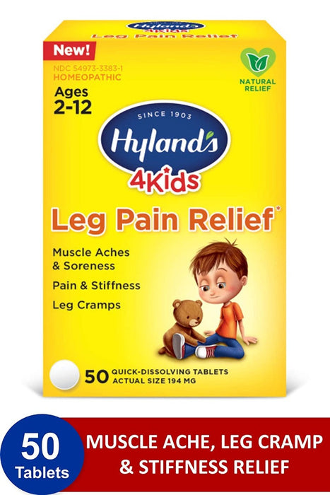 Hyland's 4 Kids Leg Pain Relief 50ct