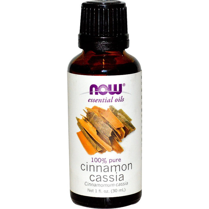 Now Foods Essential Oils, Cinnamon Cassia, 1 fl oz (30 ml)