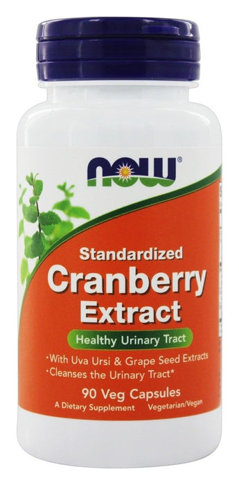 NOW Foods Standardized Cranberry Extract, 90 Vegetarian Capsules