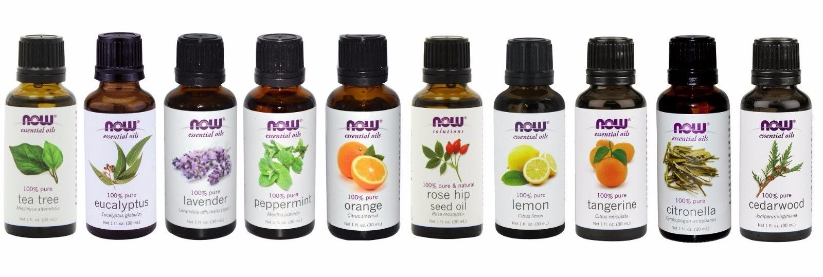 Now Foods Essential Oils, Pack of 10