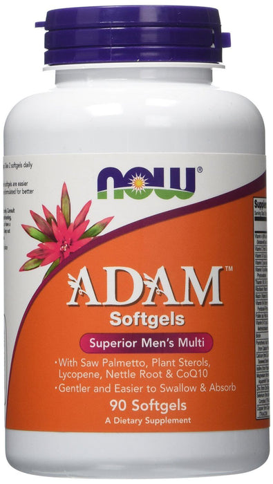 Now Foods ADAM Superior Men's Multivitamin, 90 Softgels