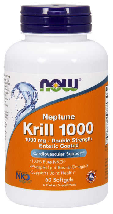 Now Foods Krill Oil Neptune 1000 mg, 60 softgels