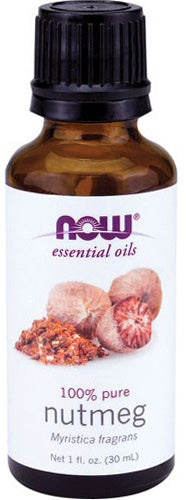 Now Foods Essential Oils, Nutmeg Oil, 1 fl oz (30 ml)