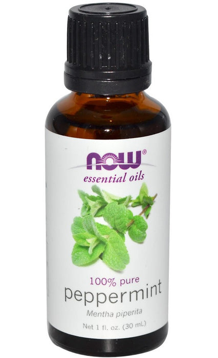Now Foods Essential Oils, Peppermint Oil, 1 fl oz