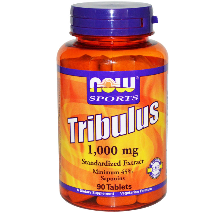 Now Foods, Sports, Tribulus, 1000 mg 90 Tablets
