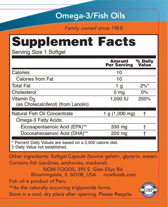 Now Foods Tri-3D Omega, 90 Softgels