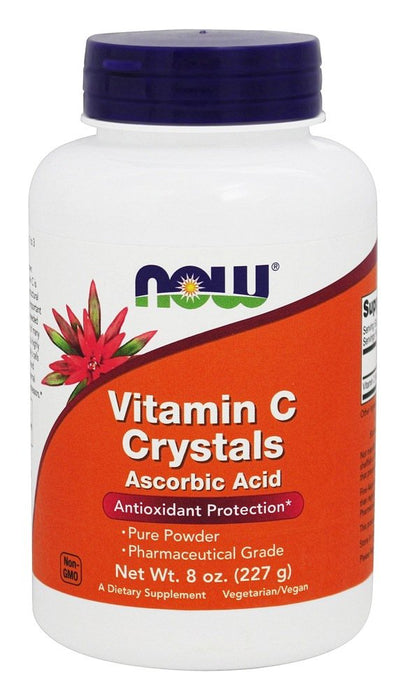Now Foods Vitamin C Crystals, 8 oz (227 g)