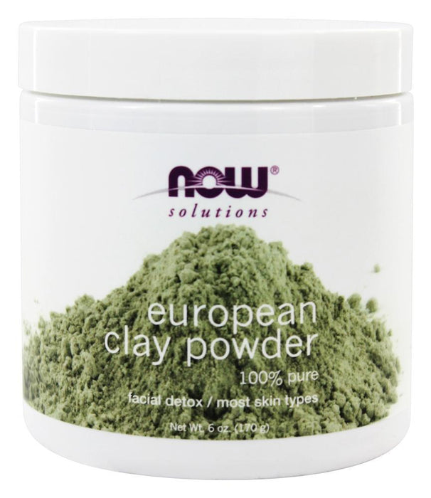 Now Foods Solutions European Clay Powder 170 g, 6 oz