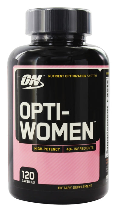 Optimum Nutrition, Opti-Women, Multivitamin, 120 Capsules