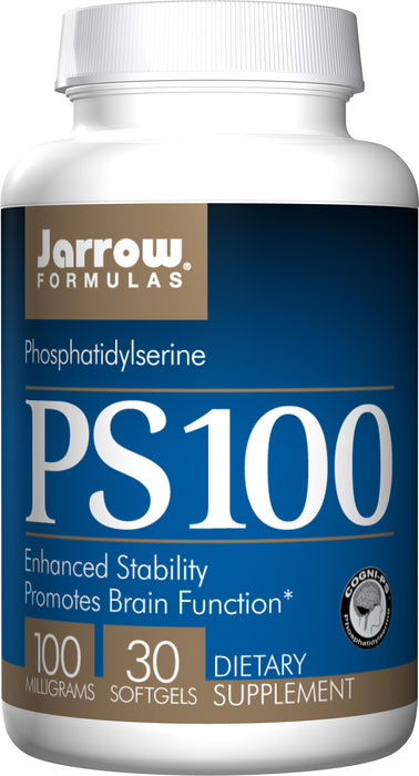 Jarrow Formulas PS100, 100 MG, 30 Softgels