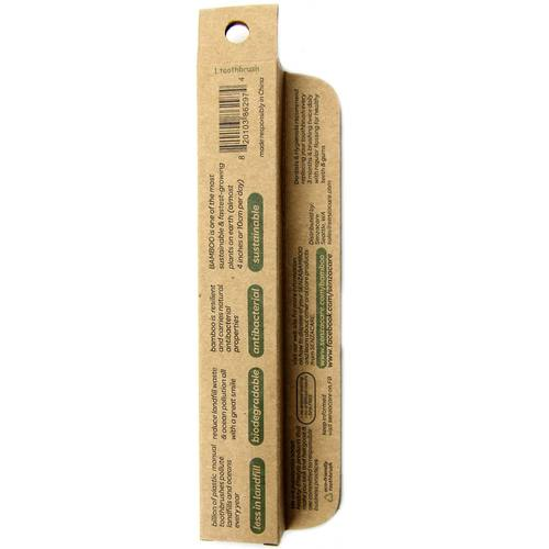 Senzacare Bamboo Toothbrush Adult, Soft