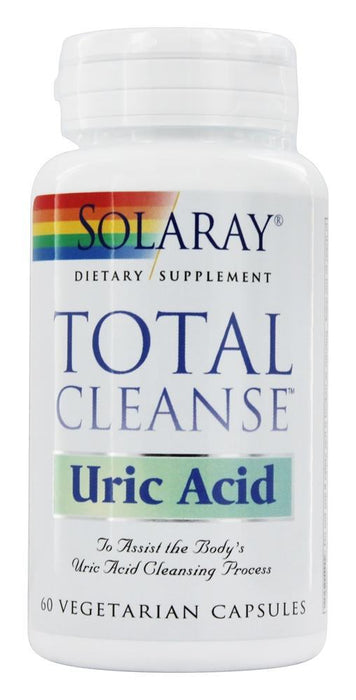 Solaray - Total Cleanse, Uric Acid, 60 Vegetarian Capsules