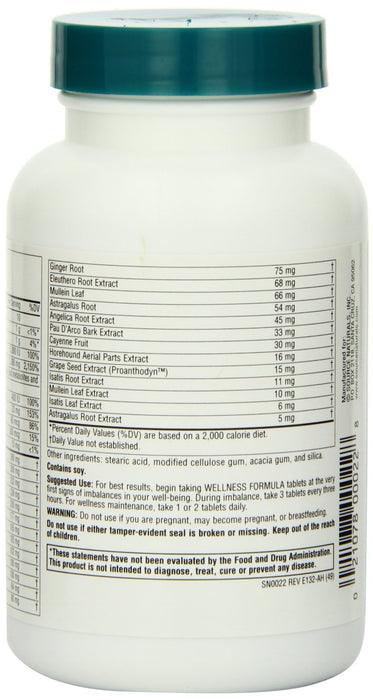 Source Naturals Wellness Formula, 90 Tablets