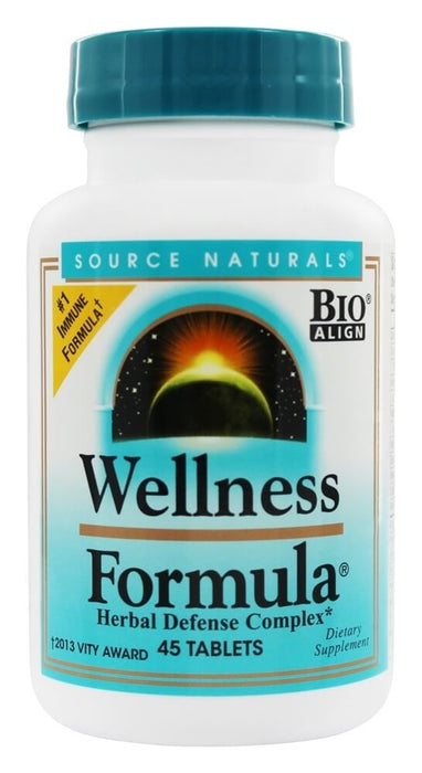 Source Naturals Wellness Formula Herbal Defense Complex, 45 Tablets