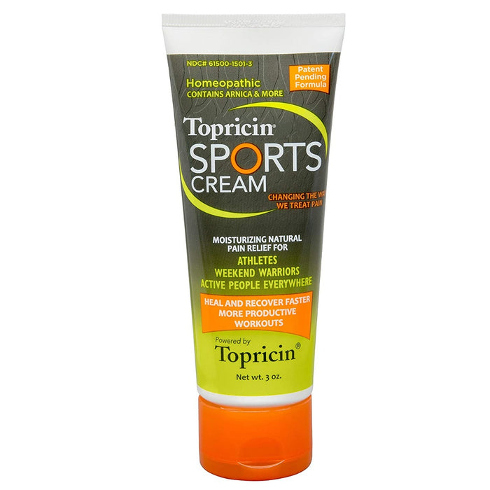 Topical Biomedics - Topricin Sports Cream 3 oz