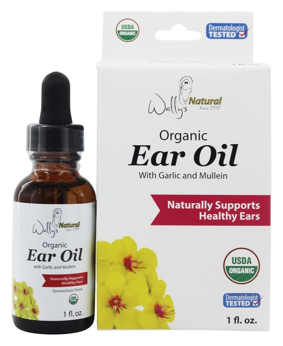 Wally's Natural Products Organic Ear Oil , 1 oz