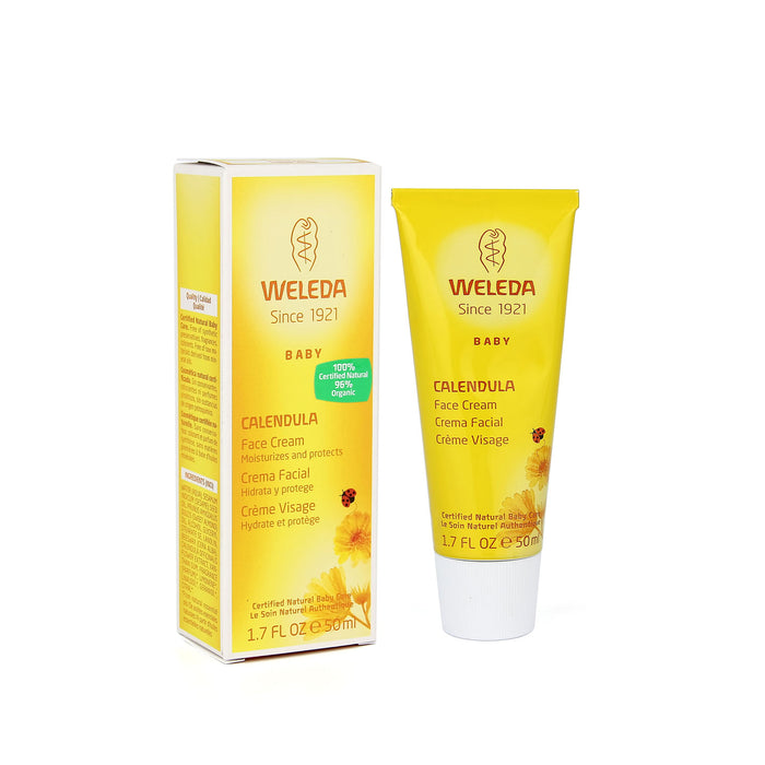 Weleda Calendula Baby Face Cream 1.7 fl oz (50 ml)