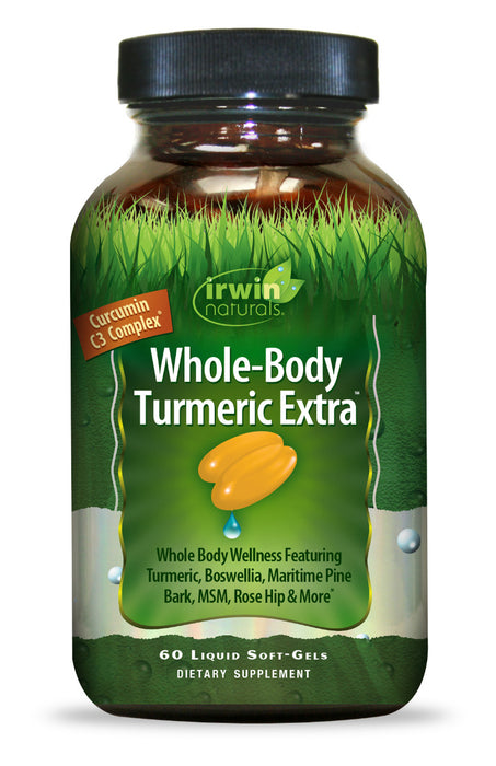 Irwin Naturals - Whole-Body Turmeric Extra, 60 Liquid Softgels