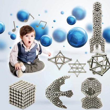 50-200pcs magnetic building blocks magnet toy magnetic rod ball