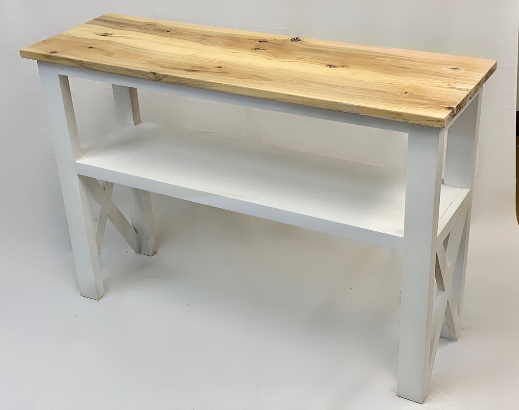Rustic Farmhouse Console Table