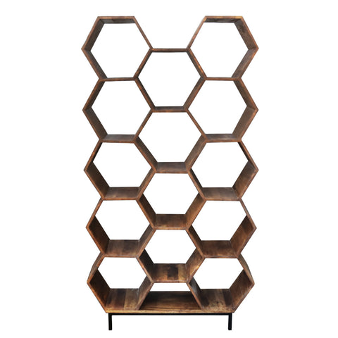 Image of Kick Industrial Open Wandkast Hexagon