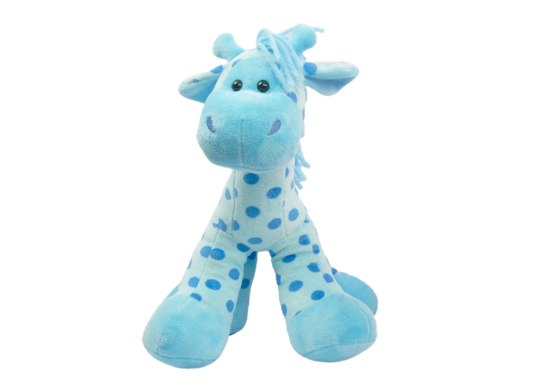 14'' Baby Stomps Giraffe Light Blue