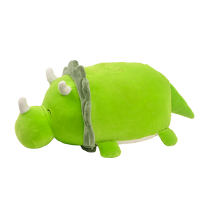 "15"" Smoochy Pals Green Dino"