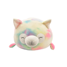 "Load image into Gallery viewer, 15"" Smoochy Pals Tie Dye Llama"