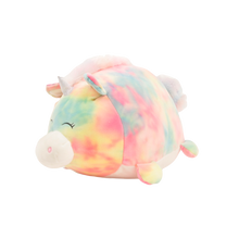 "Load image into Gallery viewer, 15"" Smoochy Pals Tie Dye Unicorn"