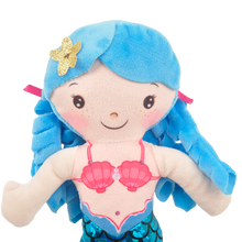 "Load image into Gallery viewer, 12"" Serena Mermaid Blue"