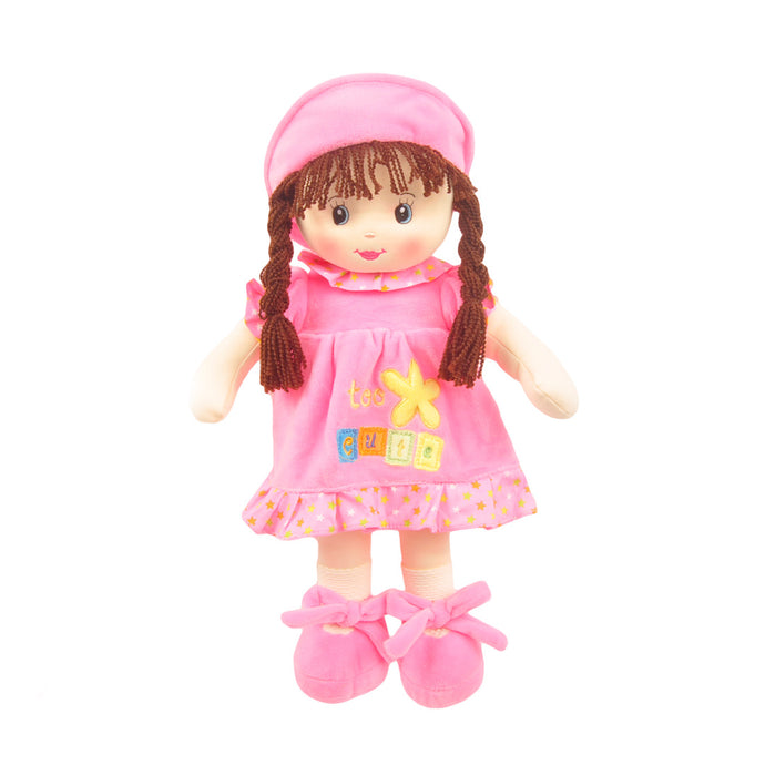 17.5 Nidia Sweet Cakes Rag Doll Pink