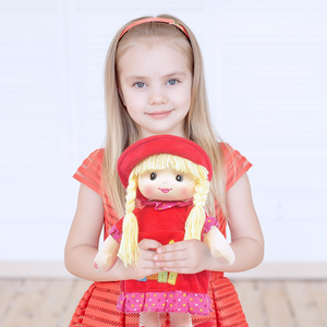 "17.5"" Niobe Sweetcakes Doll Red"