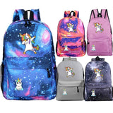 Unicorn School Backpack Shoulder Bag