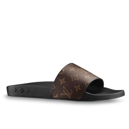 Louis Vuitton Waterfront Mule Monogram Brown