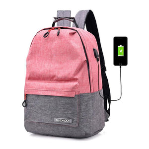 Smart Backpack for School Usb Charging Laptop (Several Colors)