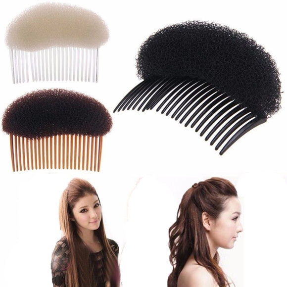 Women's Hair Styling Bump It Clip Tool Comb Tease Hair Instantly