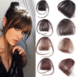 Clip in Hair Bangs Hairpiece Synthetic Fake Bangs