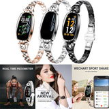H8 Women Smart Watch Bracelet With Blood Pressure Heart Rate Sleep Monitor  (Several Colors)
