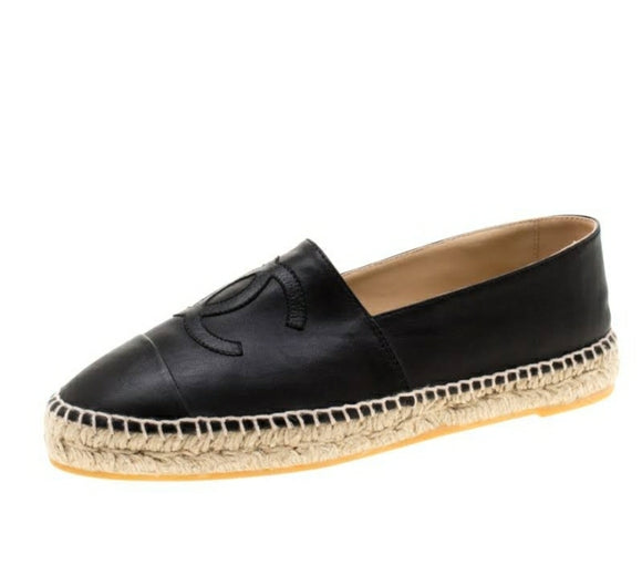 Chanel Leather CC Espadrilles (Several Colors)