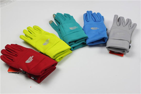 The North Face Fleece Gloves Winter warm Touch Screen Gloves (Several Colors)