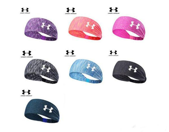 Under Armour Sport Headband Sweat Wicking Stretchy Athletic Yoga (Several Colors)