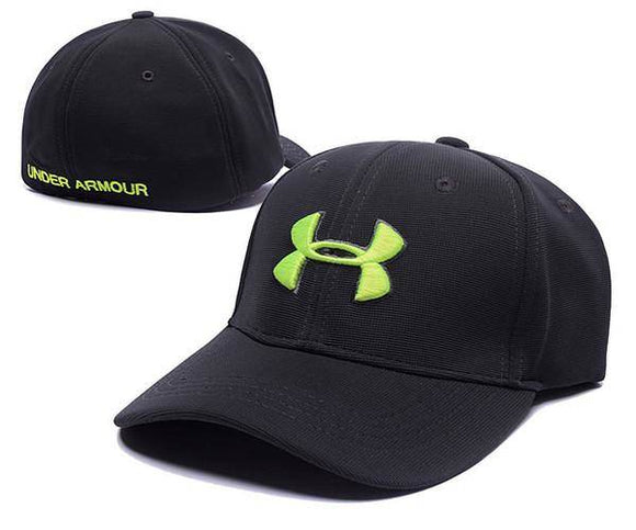 Under Armour Baseball Cap Hat Fitted Embroidered Logo