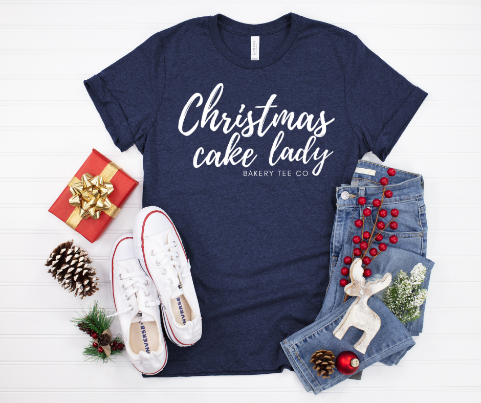 Christmas Cake Lady (multiple colors)