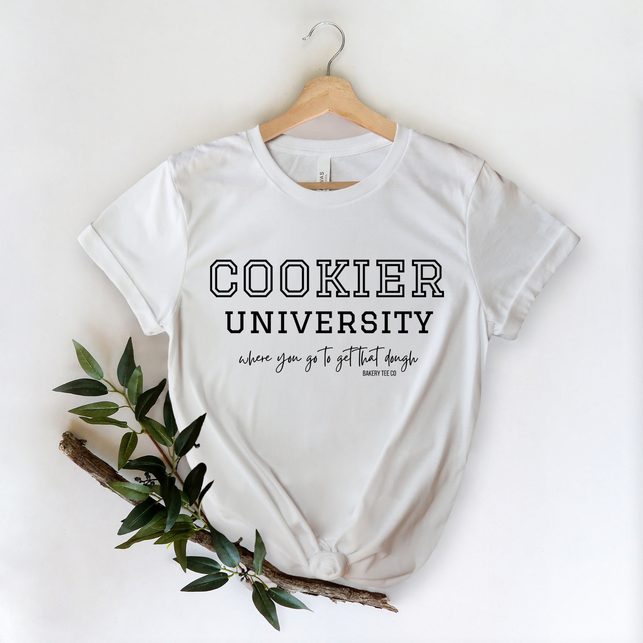 Cookie University- Where you go to get that Dough tee (MULTIPLE COLORS)