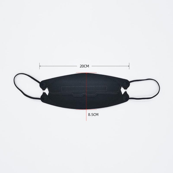 We Air LEAF KN95 Disposable Face Mask - Black -  (*a1)